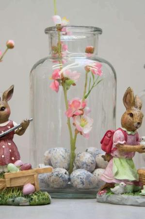 Påskepynt - påskehare figurer og vaser