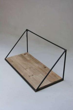 Retro hylde med trekant sider