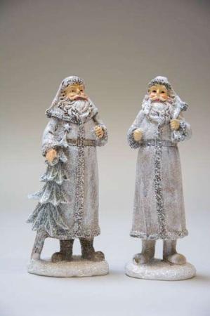 Julepynt - julemand med juletræ