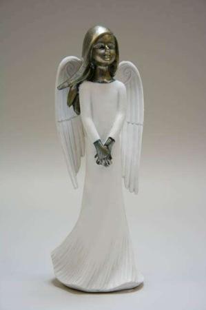 Hvid engel figur fra La Vida
