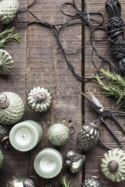 Ib laursen julekugler - oliven grøn