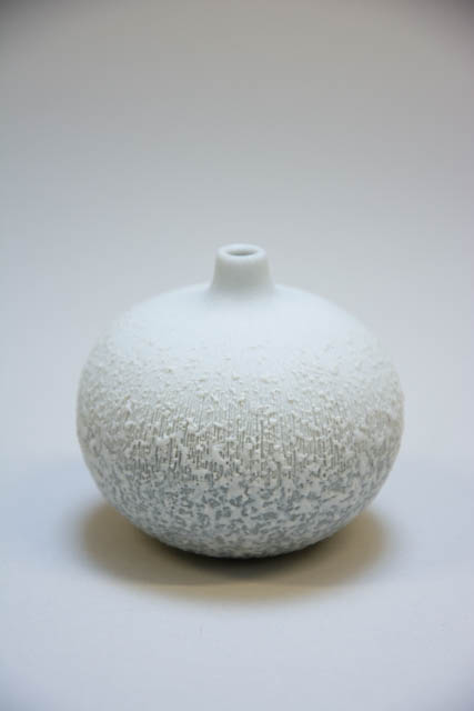 Lindform vase - bari small white sprinkles - LF-K17