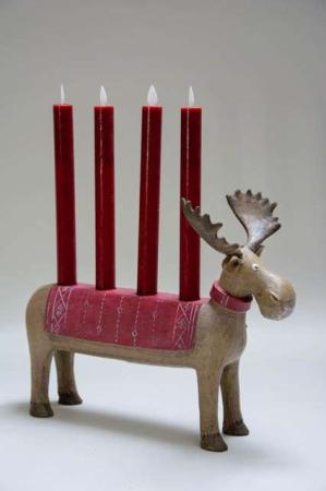 Sjov adventsstage elg