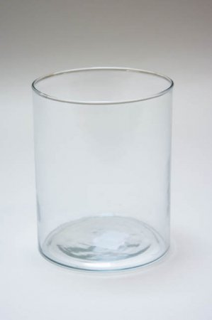Cylinderformet hurricane glas