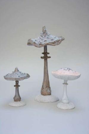 Deko svampe med perler
