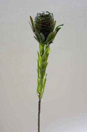 Kunstig protea blomst