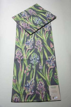 Økologisk bordløber fra Ekelund - blomster - Hyacint