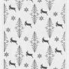 Økologisk bordløber fra Ekelund - jule bordløber -Running Deers 35x120