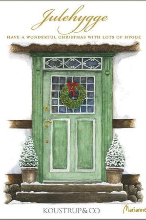 8 kvalietets julekort med jule motiver