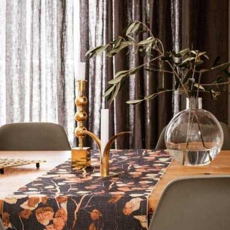 Ekelund Björkfors bordløber vævet i 100% økologisk bomuld