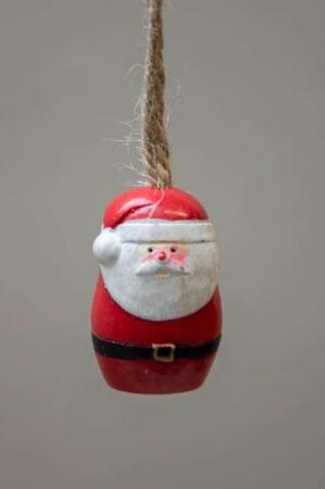 Juletræspynt - julemand af træ