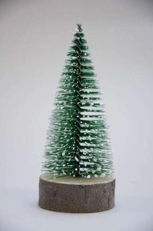Lille juletræ på træfod
