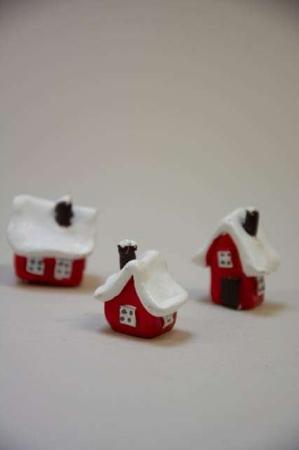 Tre små julehuse