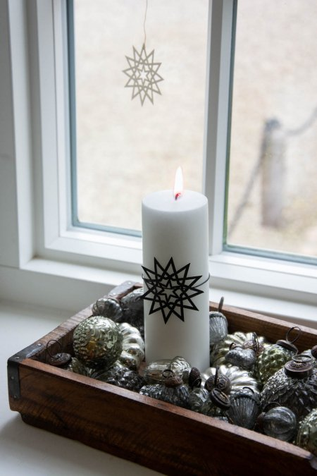 Juledekoration 2018 - unika bakke med ib laursen julekugler