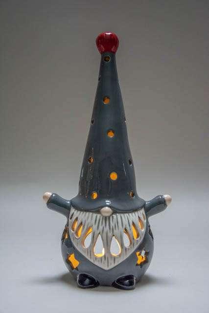 Lanterne - Nissen Hugo grå 02
