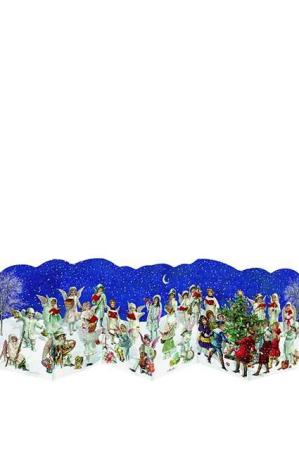 Lille nostalgisk låge julekalender