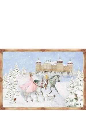 Nostalgisk julekalender - prinsesse julekalender