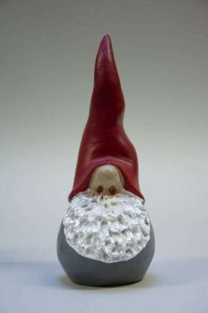 Sød nisse fra Nääsgränsgården - santa high hat