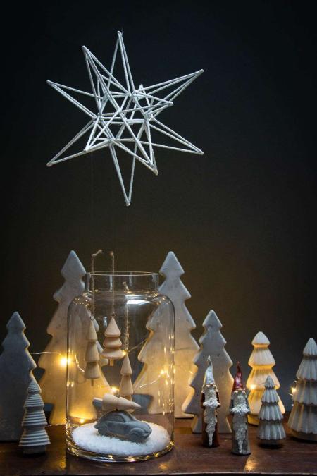Julepynt af beton