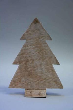 Juletræ af træ