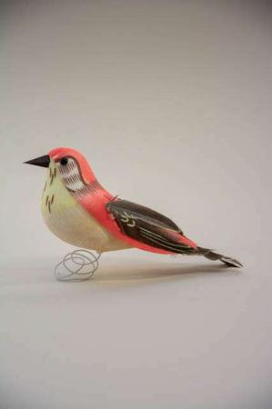 Fugl på tråd - koral