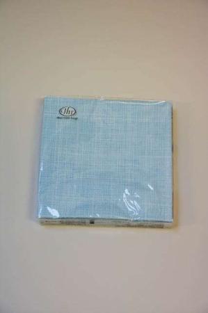 Blåternede servietter fra Ihr