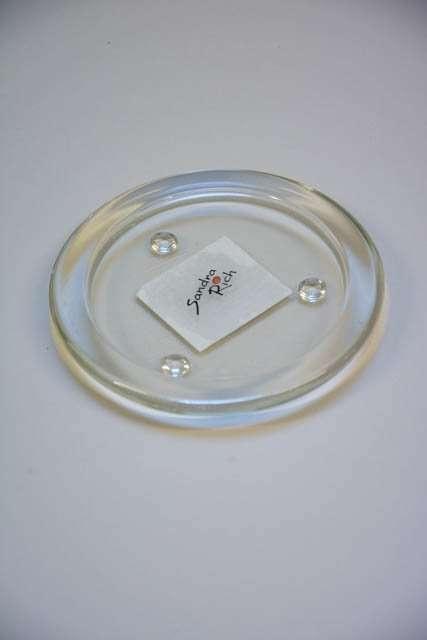 Glasfad til bloklys