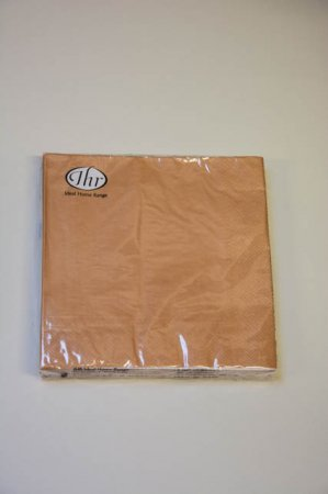 Guldfarvede servietter fra Ihr