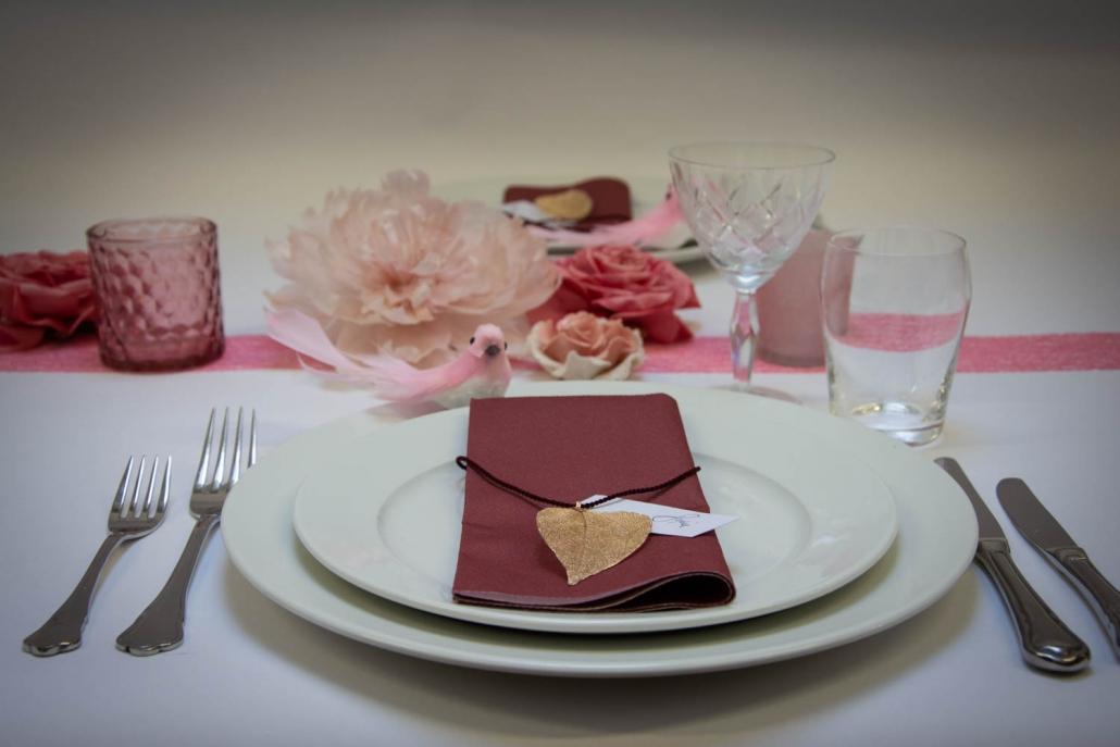 Konfirmation bordækning til piger