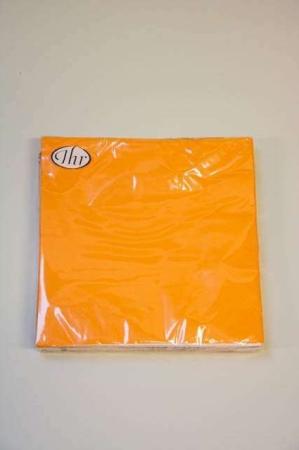 Orange servietter fra Ihr