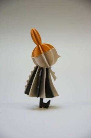 Lovi Little My. 3Dfigur af Lille My. Lille My af træ.