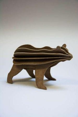 Lovi bear. 3Dfigur af brun bjørn