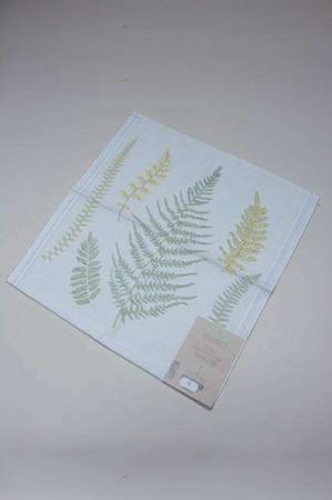 Ekelund Cora 021 stofserviet. 100% økologisk bomuld. Serviet af stof.