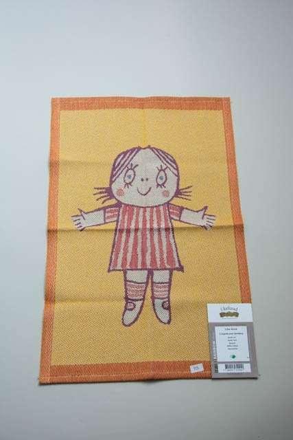 Ekelund Lilla Anna håndklæde. Vævet håndklæde fra svenske Ekelund. Lilla Anna af Inger og Lasse Sandberg.