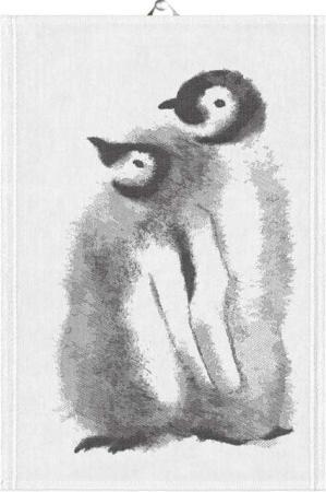 Ekelund håndklæde Penguins. Økologisk viskestykke.