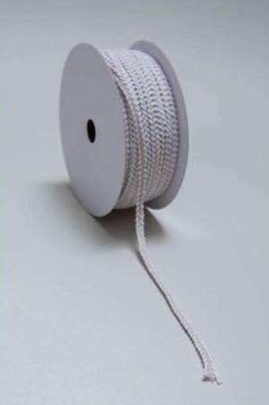 Cremefarvet bånd til dekorationer. Stofbånd til dekoration. Bindebånd hvid/creme. Dekorationsbånd i stof. Gavebånd i stof.