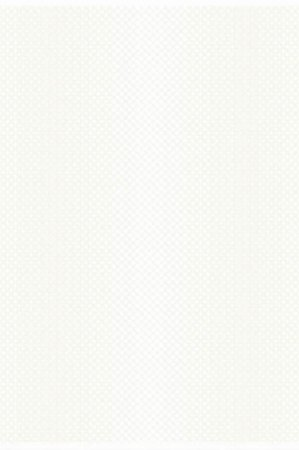 Klassisk hvid stofdug med enkelt cirkel mønster - Fiona 150x210