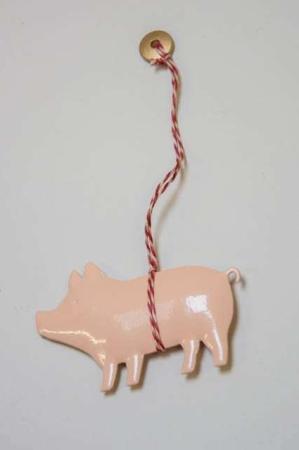 Maileg ornamenter -julepynt fra maileg - gris