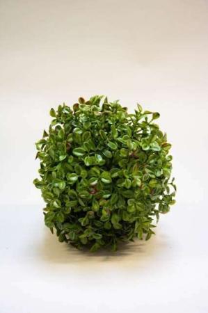 Kunstig tyttebær dekokugle. Kunstig dekomateriale. Kunstigt blad. Kunstig blomst. Plastic blomst. Kunstig plante.