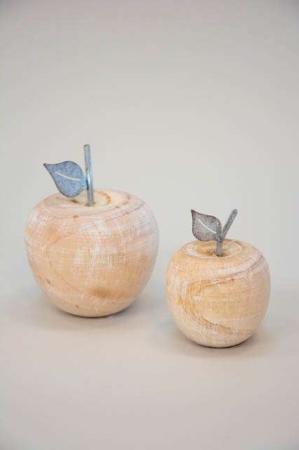 æbler af træ og metal - dekorationsæble fra 2Have