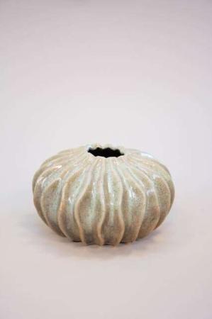 Lav vase formet som koral - grøn vase fra 2Have