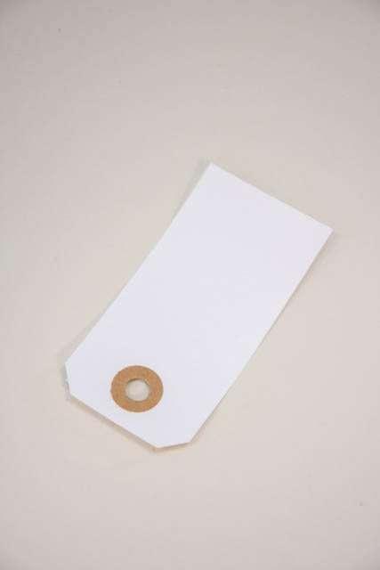 Hvidt manillamærke i 2 størrelser, Til og Fra kort