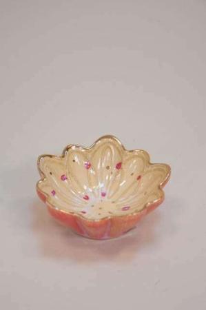 Keramik skål. Lille romantisk skål.