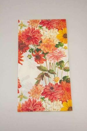Sommer-buffetservietter-med-dahlia blomster