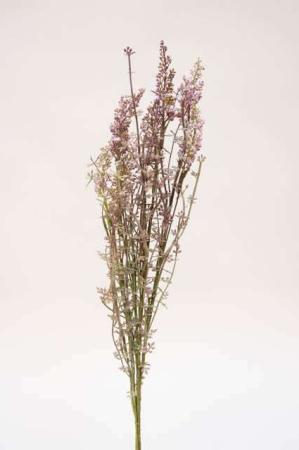 Buket i lilla nuancer. Kunstige blomster lilla farver.
