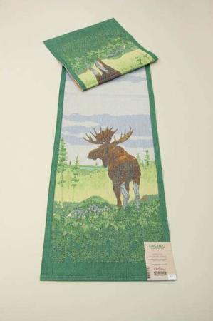 Økologisk bordløber af stof fra Ekelund - Moose