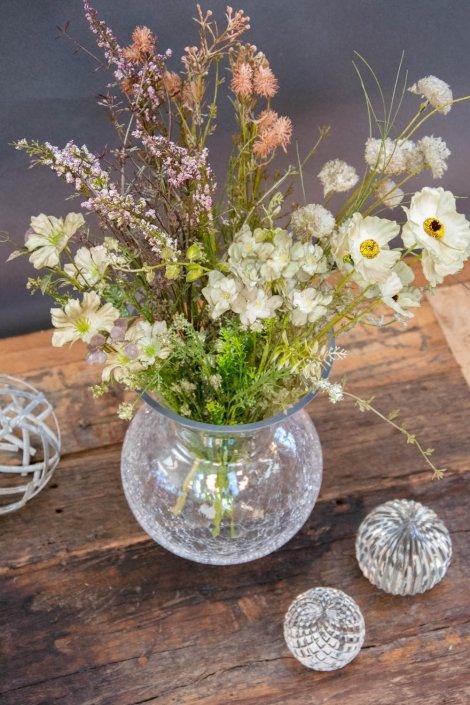 Inspiration til indretning med tørrede blomster