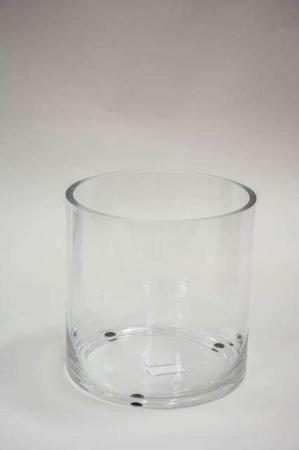 Tykt hurricane glas fra Ib Laursen - klart transparent.