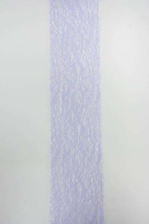 Bredt lilla dekorationsbånd med mønster fra Sae Il. Bredt bånd til dekorationer og gaver