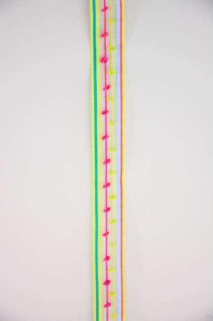 Farverigt dekorationsbånd fra Sae Il. Fint bånd til dekorationer og gaver.
